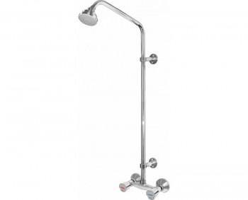 1080202 Смеситель д/ванны Коста с жест. стойкой керамика
