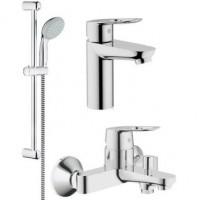 121827 Комплект GROHE BauLoop д/ванны 3в1