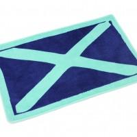 A54-31 Коврик для ванной комнаты 50*80 Atlantic darc blue