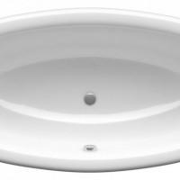 Ванна AMURA 180*90*48 овальная ALPEN