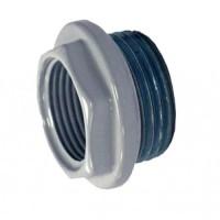 Global Муфта радиаторная с силик прокладкой ВР 1*1/2 левая  №20 (1036259)