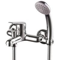 6552С PARTNER смеситель для ванны с коротким изливом,керамич. картридж 35 мм Чехия