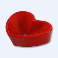 """Умывальник """"Love is"""" SL УП (Красный)"""