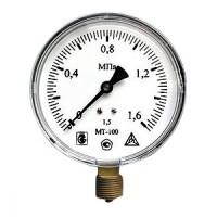 Манометр МТ-100*16 кгс/кв.см М20