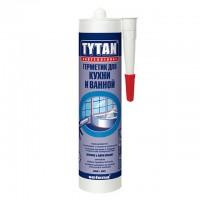 Герметик д/кухни и ванной белый 310мл TYTAN