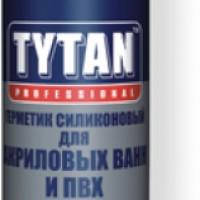 Силикон д/акр. ванн белый 310 мл TYTAN