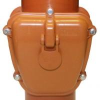 Обратный клапан НПВХ D160 Универсал