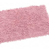 Коврик для ванной 60*90 (макароны) розовый ZALEL